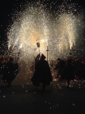 St Peter's Eve celebrations in Sant Pere de Ribes